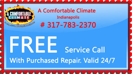 Free Service Call With Purchase of HVAC Repair